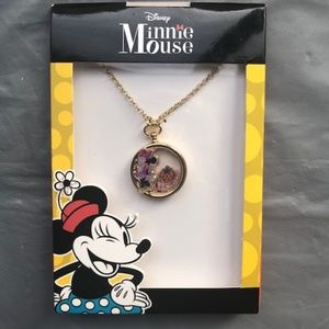 Disney.MinnieMouseGoldPlated ShakerPendantNecklace